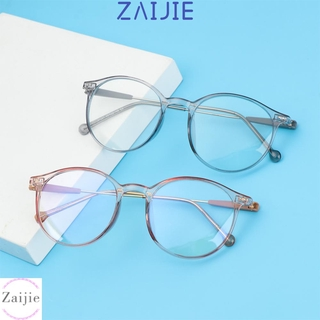 💜ZAIJIE💜 Unisex Computer Goggles Radiation Protection Flat Mirror Eyewear Eyeglasses Vision Care Anti Blue Rays Fashion Transparent Frame Ultralight/Multicolor