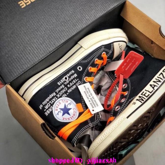 รองเท้าผ้าใบ Converse-สีขาว x Converse Chuck 1970 s limited-Edition ไซส์ 35-44