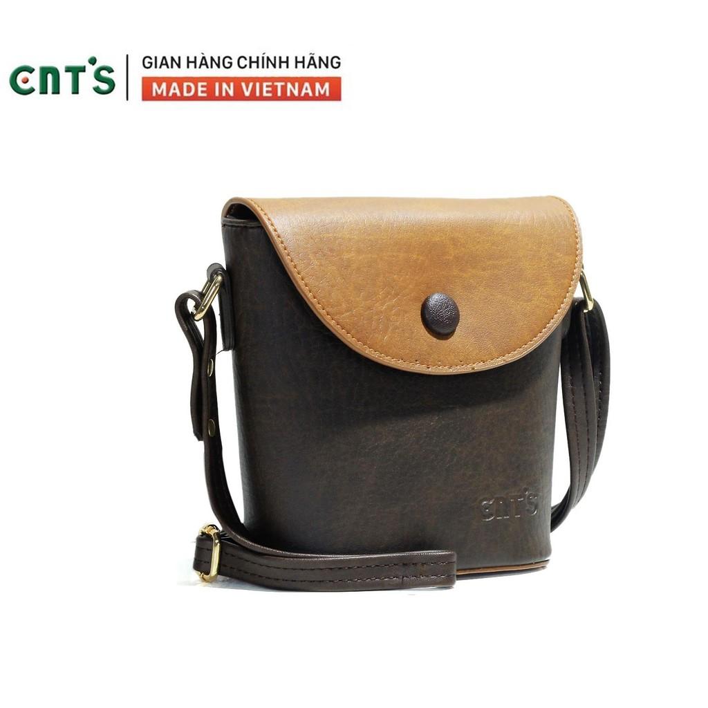 Túi đeo chéo nữ CNT TĐX54 phối cá tính