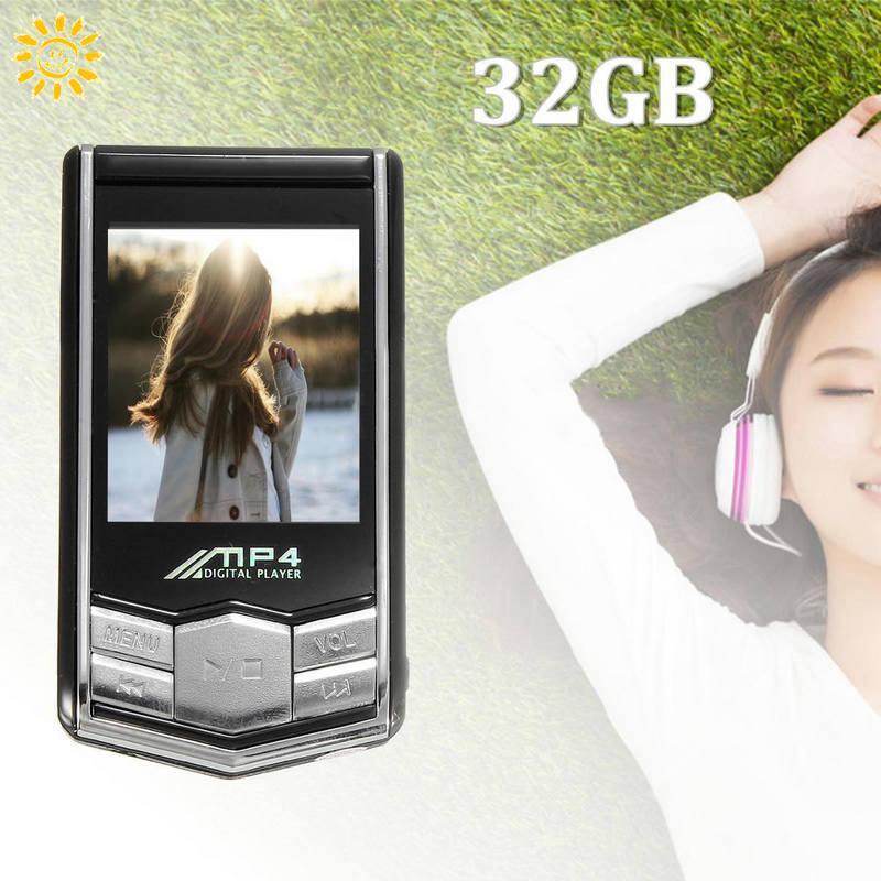 Máy nghe nhạc MP3 1.8 Inch TFT LCD 32GB kèm phụ kiện