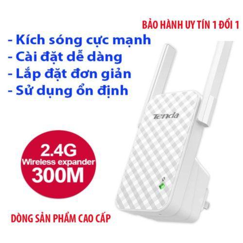 Bộ kích sóng wifi 300M, cục kích wi fi 2 râu 3 râu xuyên tường, câu mạng mở rộng oai phai tenda, mercury, totolink ex200