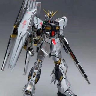 Mô hình lắp ráp Gundam SƠN METAL MG 1 100 6619S Nu Gundam ver Ka (Titanium Finish) Daban Model, Special coating thumbnail