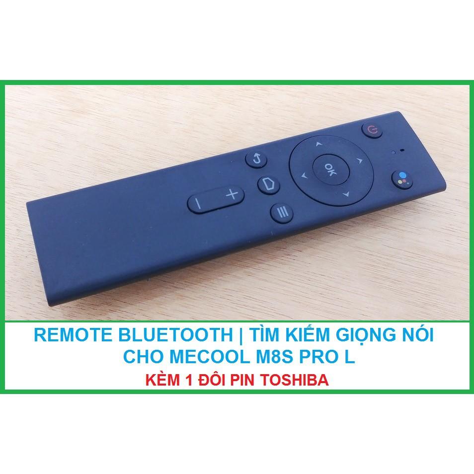 Remote Bluetooth tìm kiếm giọng nói 1click cho Android box Mecool M8s pro L