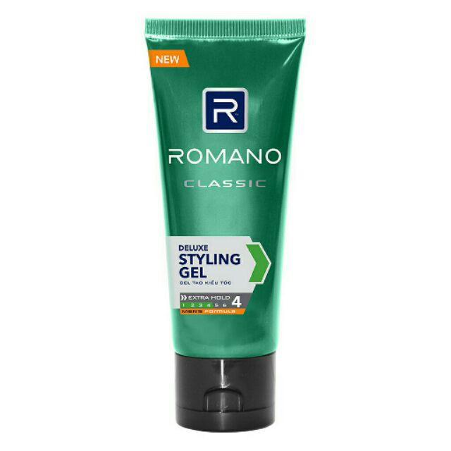 Gel vuốt tóc Romano 40g  km