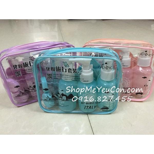 Bộ chiết mỹ phẩm mini 10 món - 3143043 , 825554046 , 322_825554046 , 50000 , Bo-chiet-my-pham-mini-10-mon-322_825554046 , shopee.vn , Bộ chiết mỹ phẩm mini 10 món