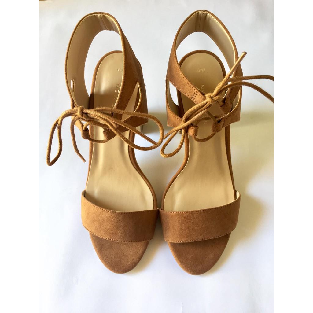 Giày gót vuông NEW LOOK