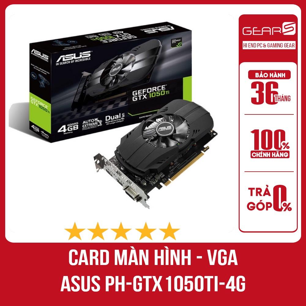Bảng giá CARD MÀN HÌNH ASUS PH-GTX 1050TI 4G Phong Vũ