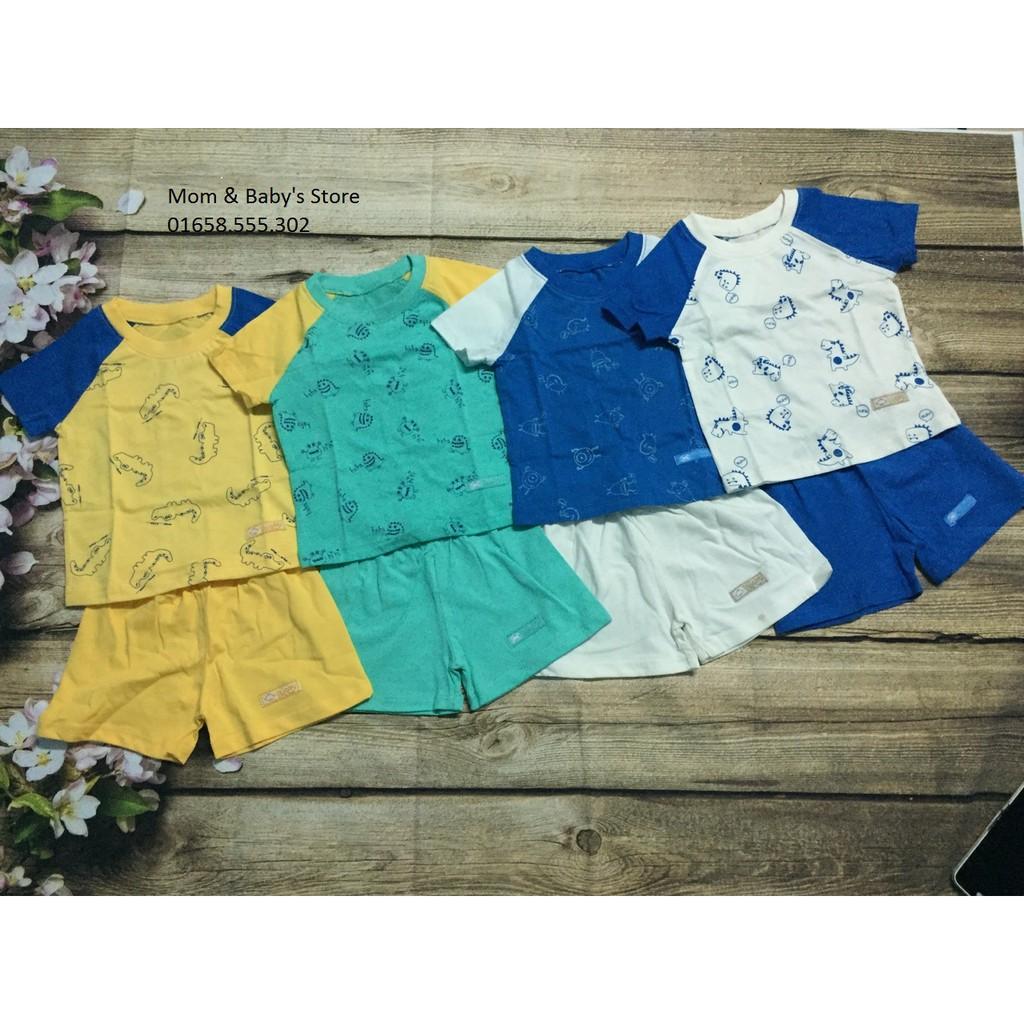 Bộ áo cộc tay Raglan quần đùi basic cho bé trai Lullaby - 3309474 , 847737579 , 322_847737579 , 78000 , Bo-ao-coc-tay-Raglan-quan-dui-basic-cho-be-trai-Lullaby-322_847737579 , shopee.vn , Bộ áo cộc tay Raglan quần đùi basic cho bé trai Lullaby