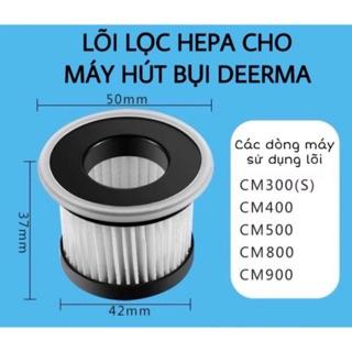 Lõi Lọc HEPA CM800 Cho Máy Hút Bụi Giường Nệm Sofa Diệt Khuẩn Deerma CM800/CM910