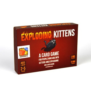 EXPLODING KITTEN_ MÈO NỔ