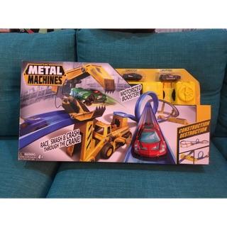 Bộ đồ chơi đường đua công trường thách thức Zuru Metal Machines