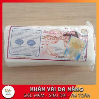 Khăn vải khô đa năng Hiền Trang giấy lau tẩy trang tiện dụng 180g khoảng 145 tờ