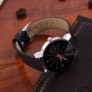 Đồng hồ thời gian đeo tay, dây cao su ko vào nước, thích hợp cả nam lần nữ