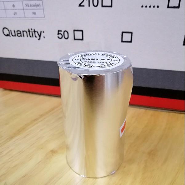 [HOT] Thùng 50 cuộn giấy in bill, hóa đơn nhiệt cao cấp Sakura K80