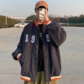 Áo Khoác Bóng Chày Thời Trang Hàn Quốc Cho Nam 3 Màu Lựa Chọn