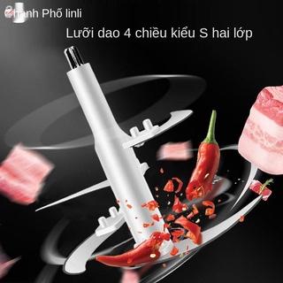 bếp điện máy xay thịt gia đình công suất lớn Máy xay thịt hai cốc thép không gỉ có thể điều chỉnh tốc độ Máy nấu rau củ thumbnail