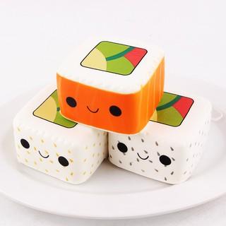 Đồ chơi dẻo hình Sushi Yummy giúp giảm căng thẳng