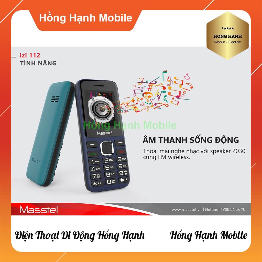 Điện Thoại Masstel iZi 112 - Hàng Chính Hãng - Hồng Hạnh Mobile