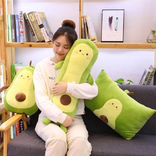 Popular Cute Stuffed Toys Gifts New 25/40/50/60CM Avocado Pillow Soft Plush Toy Doll