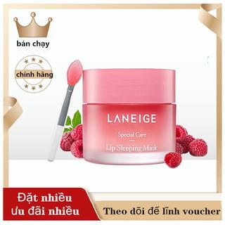 Mặt nạ ngủ cho môi Laneige Lip Sleeping Mask 3g/20g , Mặt nạ ngủ môi Laneige Berry