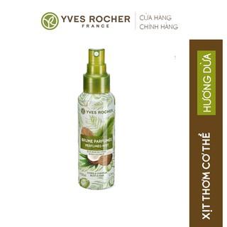 Xịt Thơm Toàn Thân Yves Rocher Sensuality Body & Hair Mist Coconut 100ml thumbnail