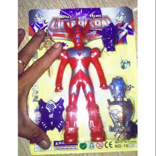 Mô hình Super man bằng nhựa