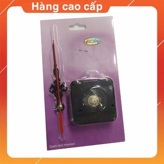 Bộ Máy Đồng Hồ Treo Tường Kim Trôi quartz cao cấp Full Box trục ngắn dùng để thay thế loại quyét không gây tiếng động