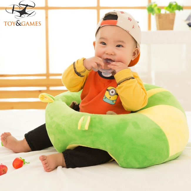 Colorful Soft Chair Cushion Plush Pillow for Baby Support Seat Learn Sit Sofa Cushion