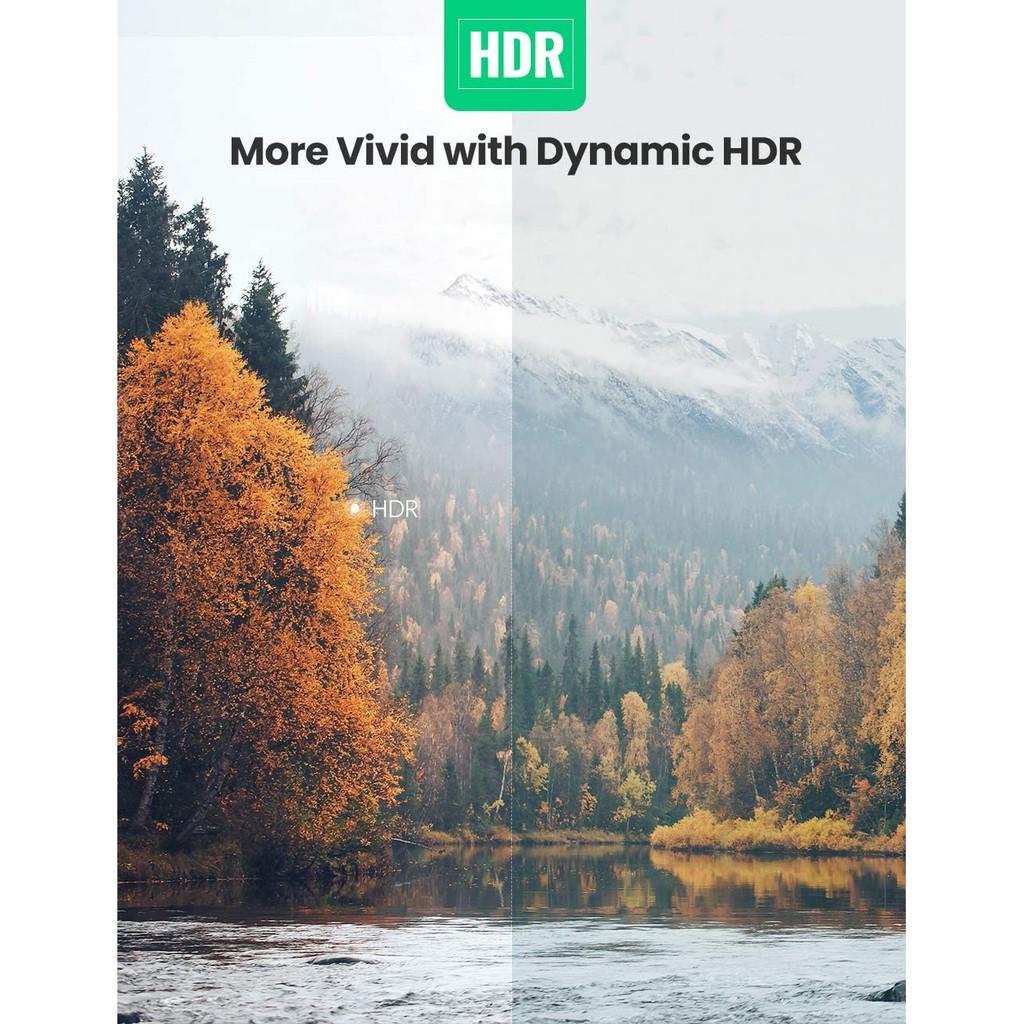 Cáp HDMI 2.1 độ phân giải 8K/60Hz dài 1-2m UGREEN HD135
