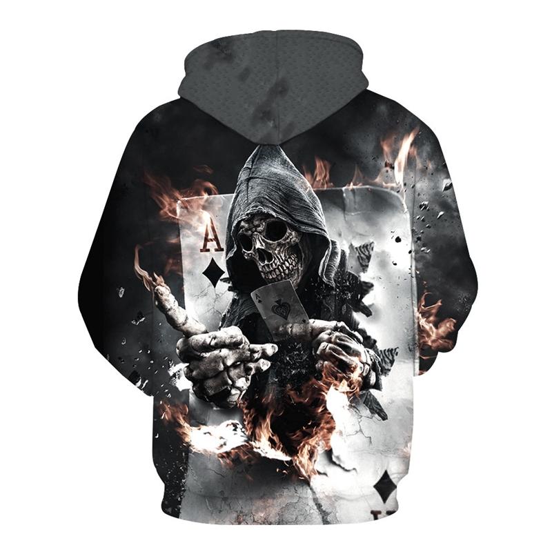 Áo hoodie in hình 3D sáng tạo thời trang Unisex