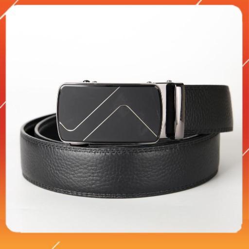 Thắt lưng da nịt FTT Leather da bò thật 100% mặt nhám độc đáo mẫu 1