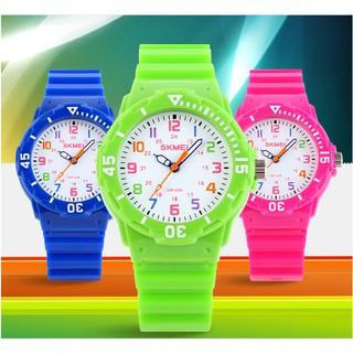 [GIÁ HỦY DIỆT] Đồng hồ unisex đồng hồ trẻ em chống nước skmei 1043