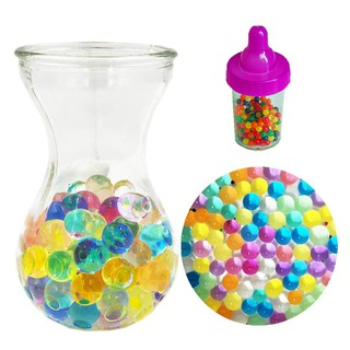 30 Bottles Absorbent Beads Marine Baby Crystal Mud Swell Balls JP0603