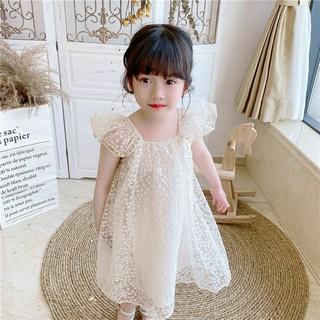 Váy công chúa cánh tiên 2 lớp cao cấp sang chảnh cho bé từ 8-20kg