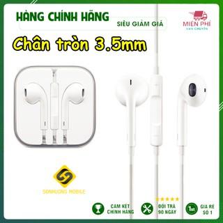 [Giá rẻ] Tai nghe iphone chính hãng thích hợp iphone 5/5s/6/6p/6s/6sp Âm thanh hay, Bass ấm bảo hành đổi mới