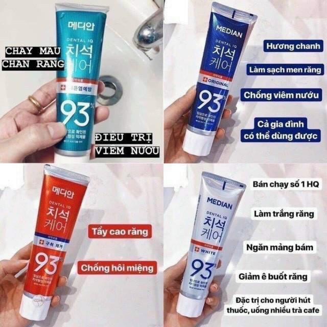 Kem đánh răng 120g Median 93% - Hàn Quốc