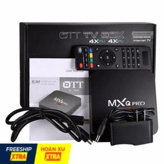 Tivi TV Box Truyền hình bóng đá (Chip xịn S905W) 4K – MXQ Pro 2G+16G Bản mới Tích hợp FPT Play