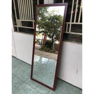 Gương soi toàn thân( Nhôm Vân Gỗ) 110cm* 42cm bảo hành