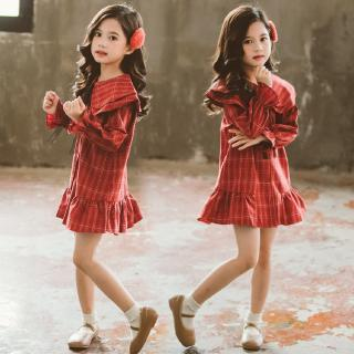 Lovely, high quality plain color dress for girls