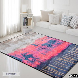 ★Abstract oil painting series large carpet bedside living ro