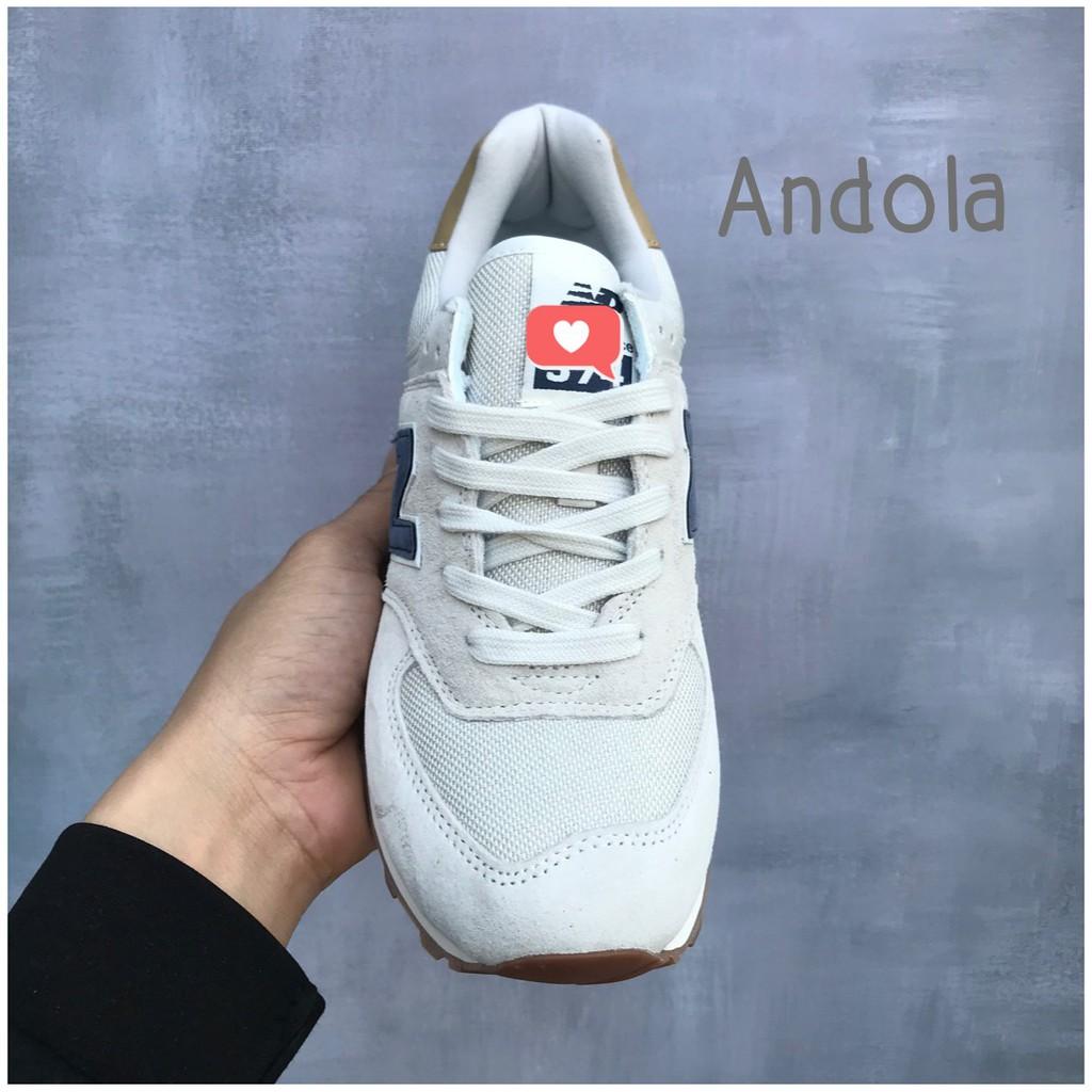 Giày thể thao,Giày sneaker,Giày 𝐍𝐞𝐰 𝐁𝐚𝐥𝐚𝐧𝐜𝐞,Giày 𝐍𝐁 𝟓𝟕𝟒 chữ xanh than