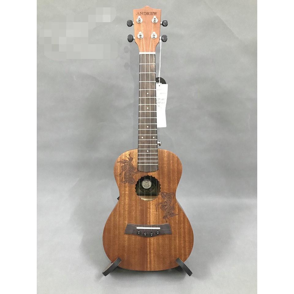 đàn ukulele Concert gỗ mahogany chính hãng Andrew
