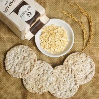 Hình ảnh Bánh gạo lứt ăn kiêng GUfoods (510g = 54 bánh) - Các vị Yến mạch, Huyết rồng, Tím than, Mix 3 vị, Hạt chia và Hạt quinoa-8
