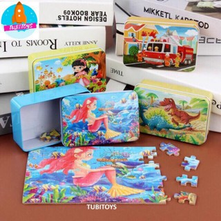 [được chọn mẫu] XẾP HÌNH GỖ PUZZLE 60 – 200 MẢNH HỘP THIẾC – ghép hình puzzle SIÊU ĐẸP