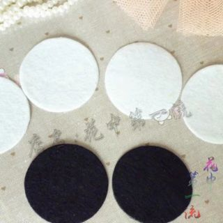 100 miếng lót nỉ size 3cm làm đồ handmade
