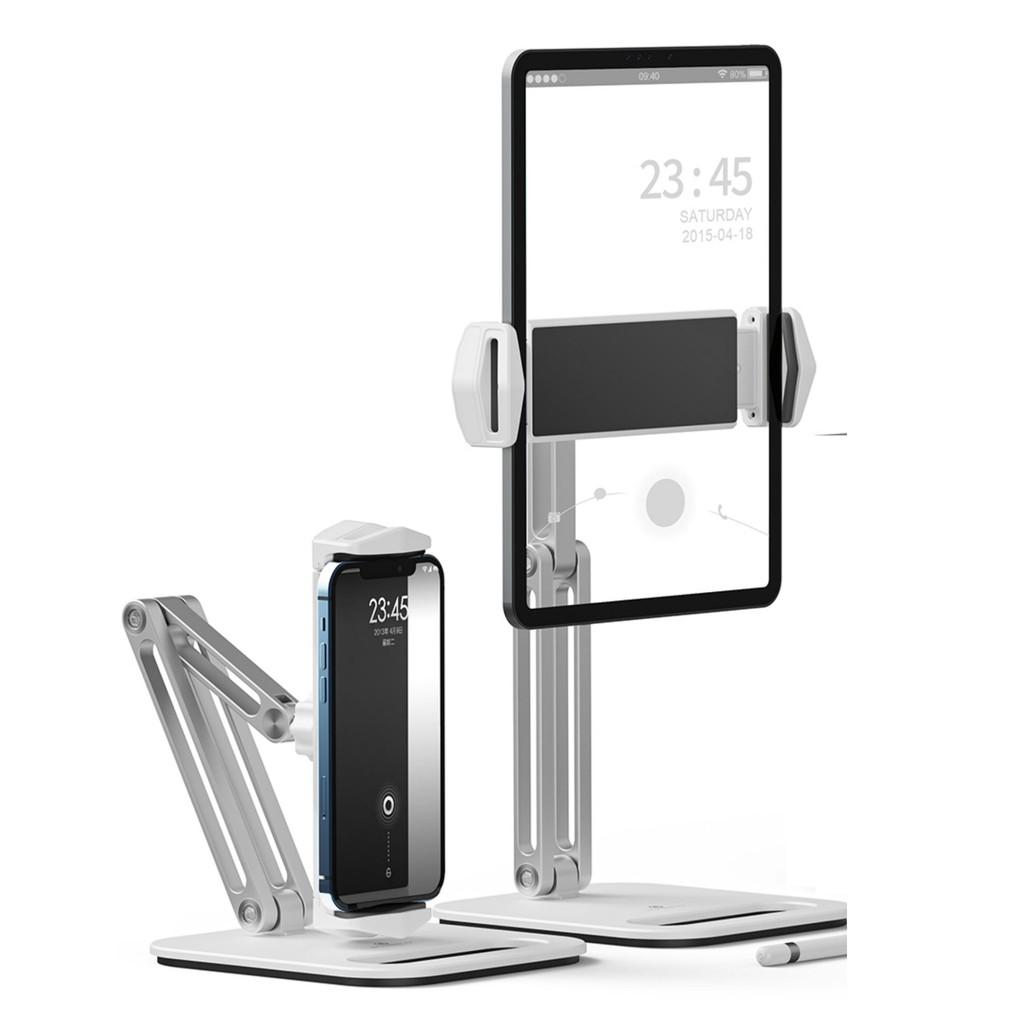 Giá đỡ Ipad Iphone Galaxy Tab dạng kẹp máy tính bảng tablet xoay 360 độ P47  - Giá đỡ - Chân đế thường