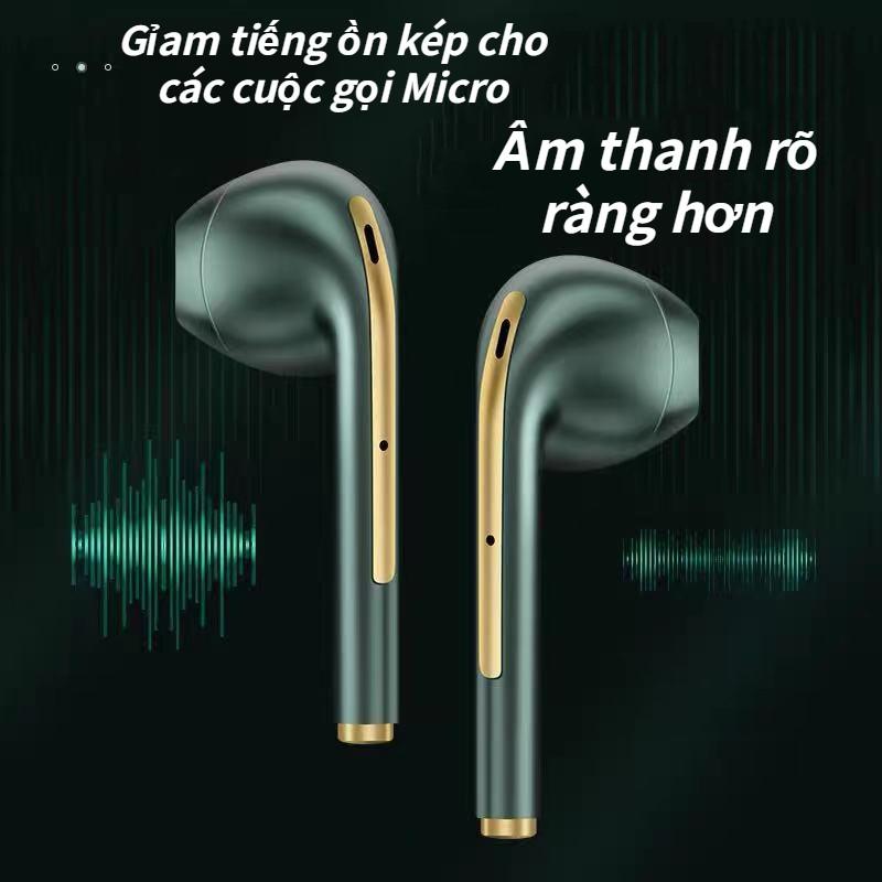 Tai Nghe Bluetooth 5.0 i12 TWS - Cảm Biến Vân Tay, Chất Âm Êm, Trong Trẻm Thời Lương Pin Tốt, Sang Trọng