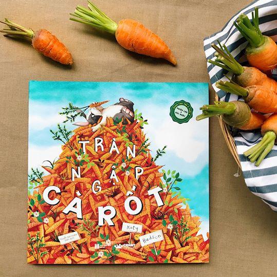 Sách truyện thiếu nhi - Tràn ngập cà rốt