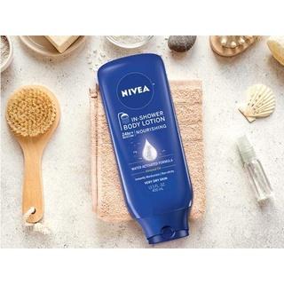 (HÀNG MỸ)Dưỡng thể cho da khô dùng khi tắm Nivea In-Shower Body Lotion