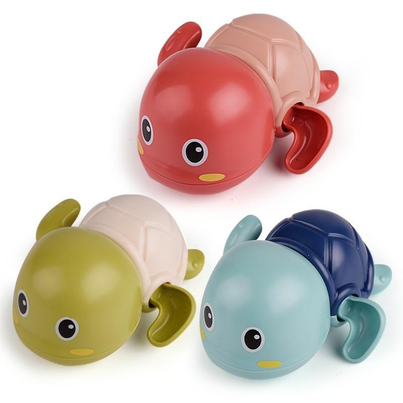 Đồ chơi nhà tắm rùa bơi cho bé không dùng pin cao cấp siêu dễ thương